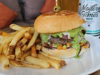 You can't celebrate the Fourth of July weekend without a burger and brew. Stop by Thursday-Sunday for a $12 burger and brew special in our bar and lounge areas!