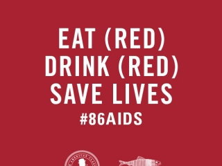 Chef @BrianMalarkey's Searsucker & @HeringboneEATs restaurants are teaming up with (@RED) to help fight against AIDS.  Ask your server how you can help #86AIDS with our special menu items this month at #Searsucker!