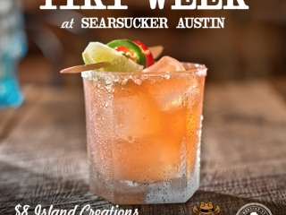 Time flies when you're drinking rum…that's why we're slowing it down with #TexasTikiWeek exclusively at #SearsuckerATX!
