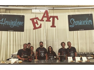 Come swing by the #KAABOO #PalateTent for some EATs by Searsucker & @HerringboneEats