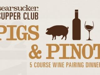 Pigs & Pinot Wine Dinner in Del Mar