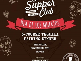 ????????????Searsucker Del Mar hosts #SearsupperClub next Thursday, November 5! Join our #DiaDeLosMuertos celebration with a 5-course tequila pairing dinner.  Reserve your spot by clicking on the link in our bio!