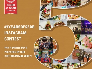 ????We're celebrating #5YearsOfSear at our flagship in the Gaslamp District! Share your favorite memories from #Searsucker on Instagram for a chance to WIN DINNER by Chef @BrianMalarkey!1) Follow @Searsucker on Instagram2) Upload a photo from your experience at ANY Searsucker location!3) Use hashtag #5YearsOfSear (*Make sure your setting is PUBLIC)